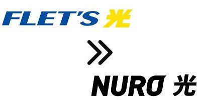 NTTフレッツ光からNURO光