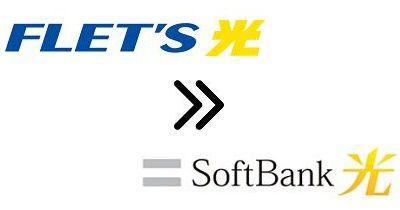 NTTフレッツ光からソフトバンク光